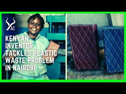 Kenyan Inventor Tackles Plastic Waste Problem In Nairobi
