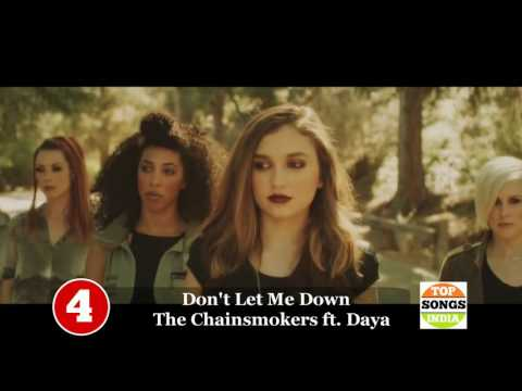 TOP 10 ENGLISH SONGS OF THE WEEK- August 27, 2016...