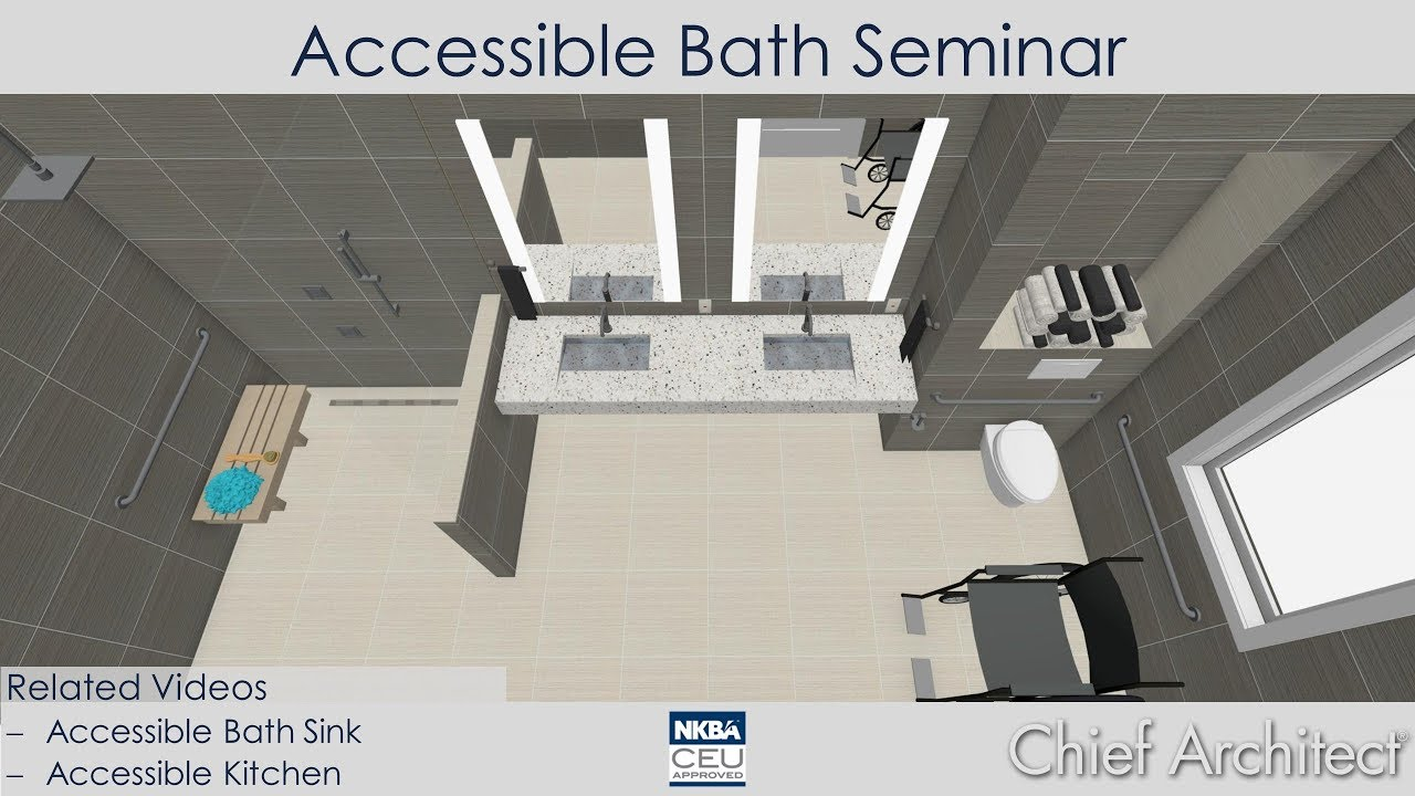 Accessible Bath Design - YouTube
