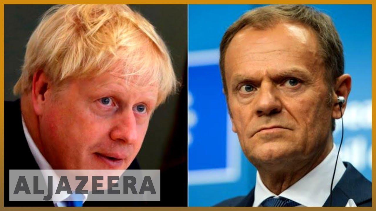 AlJazeera English:EU rejects UK request to scrap 'Irish backstop' provisions in Brexit accord
