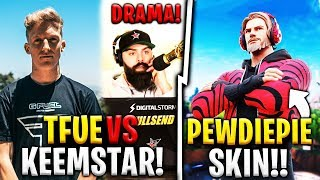 ANOTHER DRAMA OF THE TFEU... NEW PEWDIEPIE SKIN SOON IN THE GAME?! FORTNITE NEWS #32