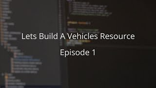Improving our Vehicles Resource // Learning MTA 14