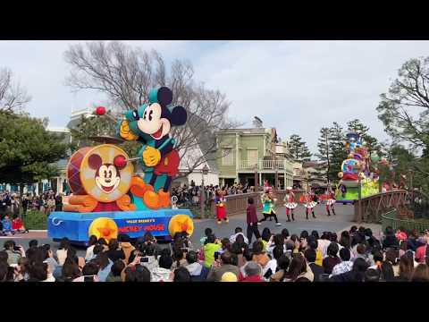 Final Performance LAST EVER Happiness is Here Parade, Tokyo Disneyland Character Procession