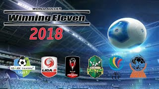 Winning Eleven 2018 Mod Update Transfer & Liga Indonesia & Fifa World Cup 2018