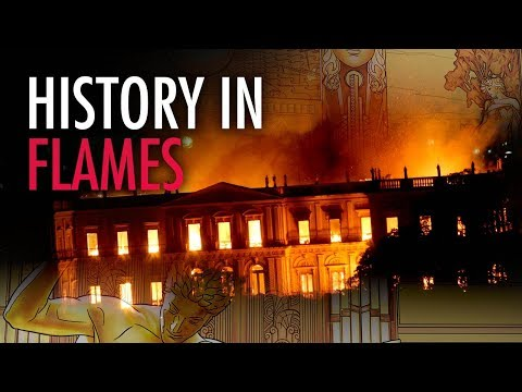 Martina Markota: Ancient History Destroyed in Brazil Museum Fire