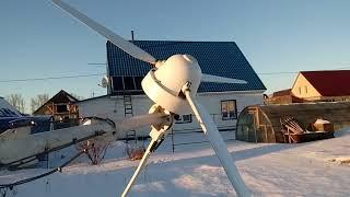 Установка нового ветрогенератора