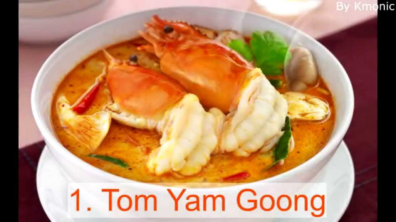 Top 10 best thai foods youtube top 10 best thai foods forumfinder
