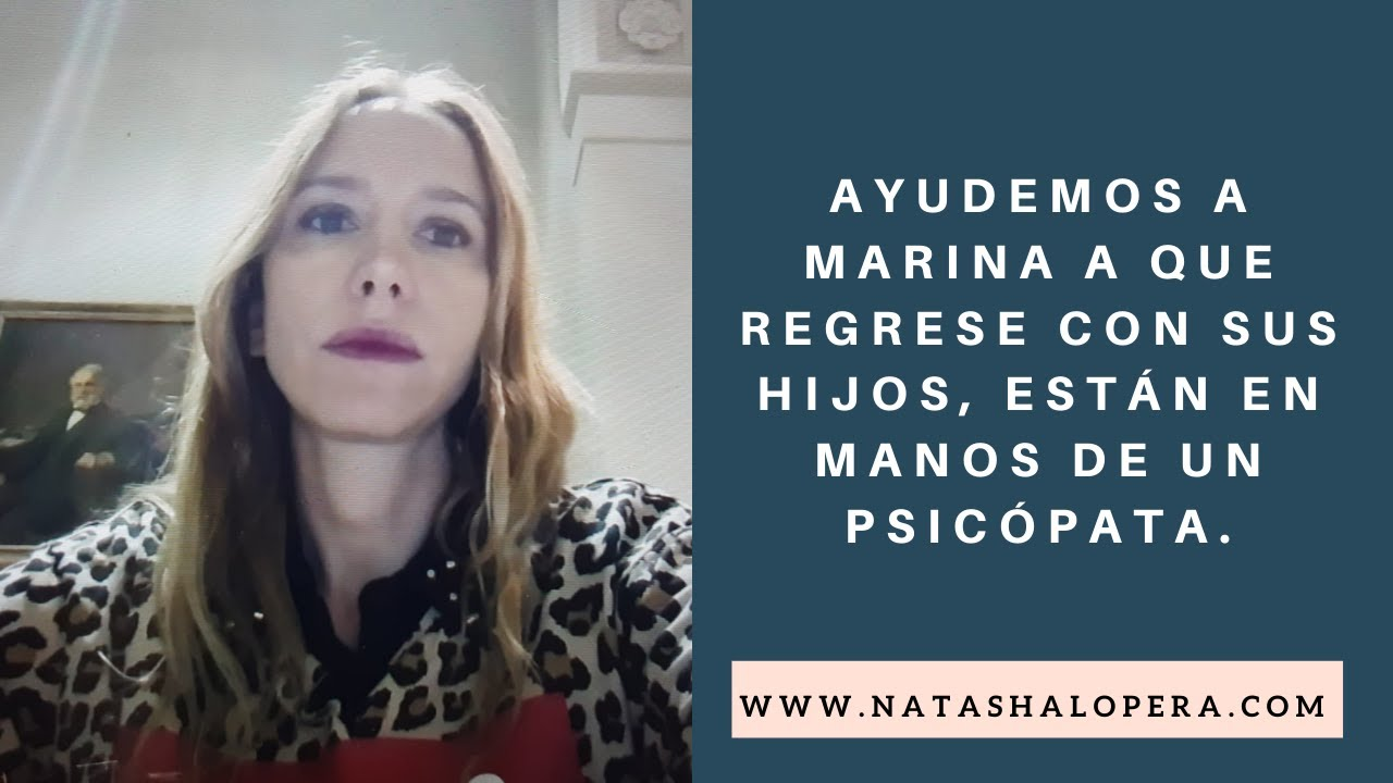 Ayudemos a Marina Dominguez que regrese con sus hjos, víctima de un psicópata bigamo.