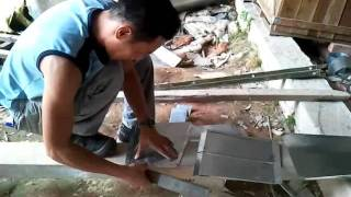 Ductwork fabrication.wmv