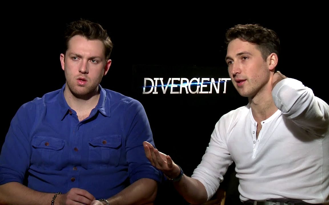 nice shoes special section get new Ben Lloyd-Hughes & Christian Madsen Interview - Divergent (2014) JoBlo.com  HD
