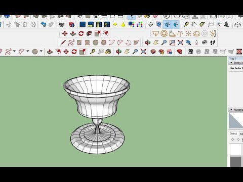 Wine Glass Design - Sketchup Tutorial thumbnail