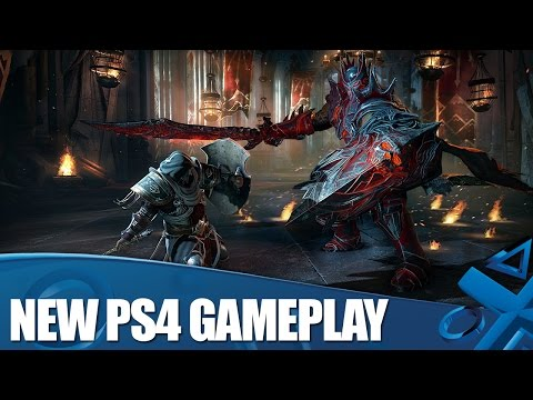 Lords Of The Fallen - New PS4 Gameplay and Boss Fight!