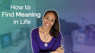 When life seems meaฑingless watch this | Finding life purpose w/ Dr. Andrea Pennington #RealSelfLove