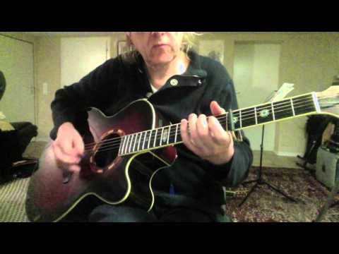 Solitary Man Guitar Cover by Siggi Mertens