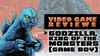 Godzilla, King of the Monsters (Game Boy) - MIB Video Game Reviews Ep 11