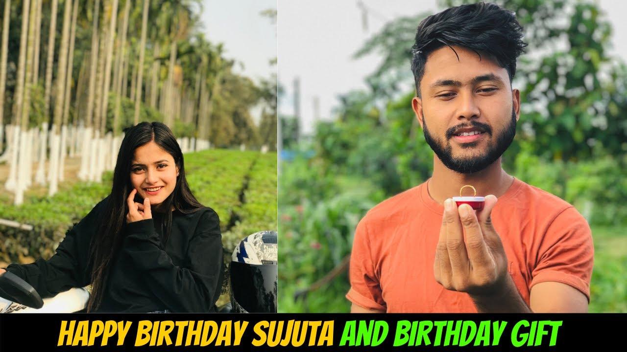 SUPRISE GIFT TO SUJATA    HAPPY BIRTHDAY TO SUJATA😍
