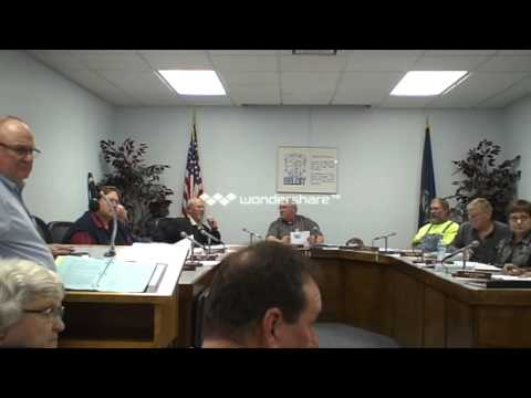 Beloit Ks City Council Meeting 12-3-13 Part 3