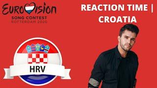 "American Latino Reacts to Eurovision 2020 | Croatia with Damir Kedzo ""Divlji Vjetre"" 🇭🇷"