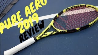 BABOLAT PURE AERO 2019 | REVIEW (gameplay)