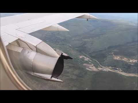 gravel-runway-737-200-landing-in-2018,-dawson-yukon---air-north