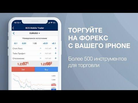 БКС Форекс   Торгуйте на Форекс с Вашего IPhone