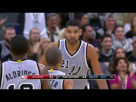 Atlanta Hawks vs San Antonio Spurs - November 28, 2015