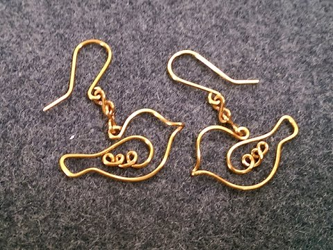 Image result for wire diy earrings
