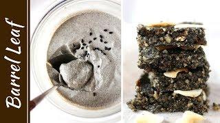 2 款全素黑芝麻點心 都只要 5 樣食材! Vegan Black Sesame Snacks