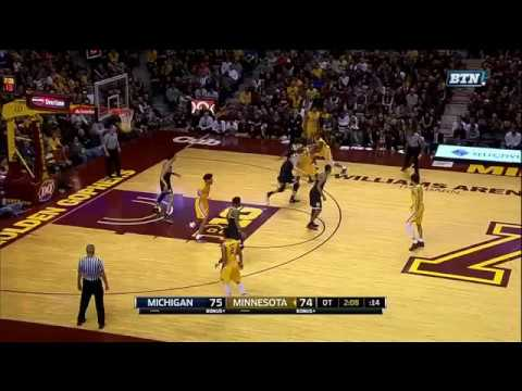 Jordan Murphy Rebound Dunk vs. Michigan