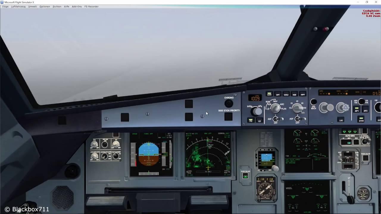 FSLabs A320-X Basics: RNAV GPS Approach