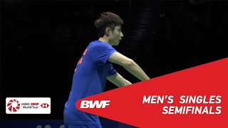 SF | MS | SHI Yuqi (CHN) [1] vs Anthony Sinisuka GINTING (INA) [4] | BWF 2019