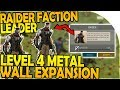 NEW RAIDER FACTION LEADER - LEVEL 4 METAL WALL EXPANSION! - Last Day On Earth Survival 1.7.1 Update