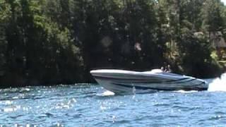 1000 Islands Poker Run Jet Boat Idle.