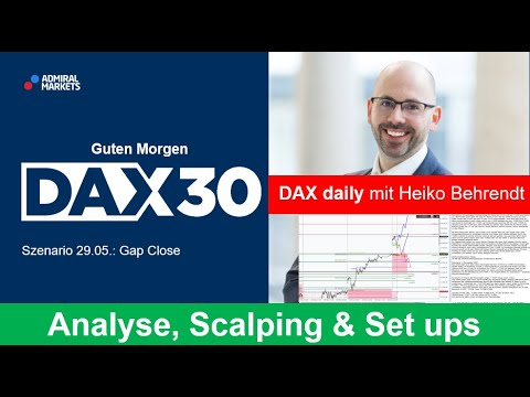 DAX aktuell: Analyse, Trading-Ideen & Scalping | DAX30 | CFD Trading | DAX Analyse | 29.05.2020