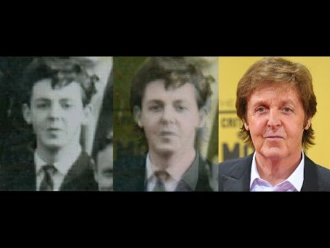 Paul McCartney 1960 School Photo Comparison