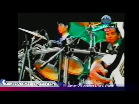 Khmer old concert TV tv3  -The world of music -Old Khmer video - VHS Khmer old-