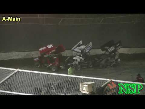 August 20, 2016 600 Mini Sprints A-Main Deming Speedway