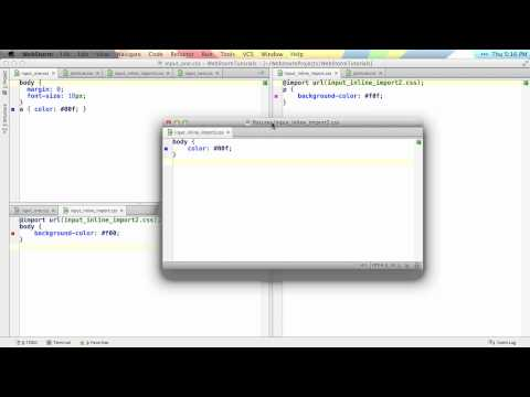 Managing Editor Tabs - WebStorm Video Tutorial