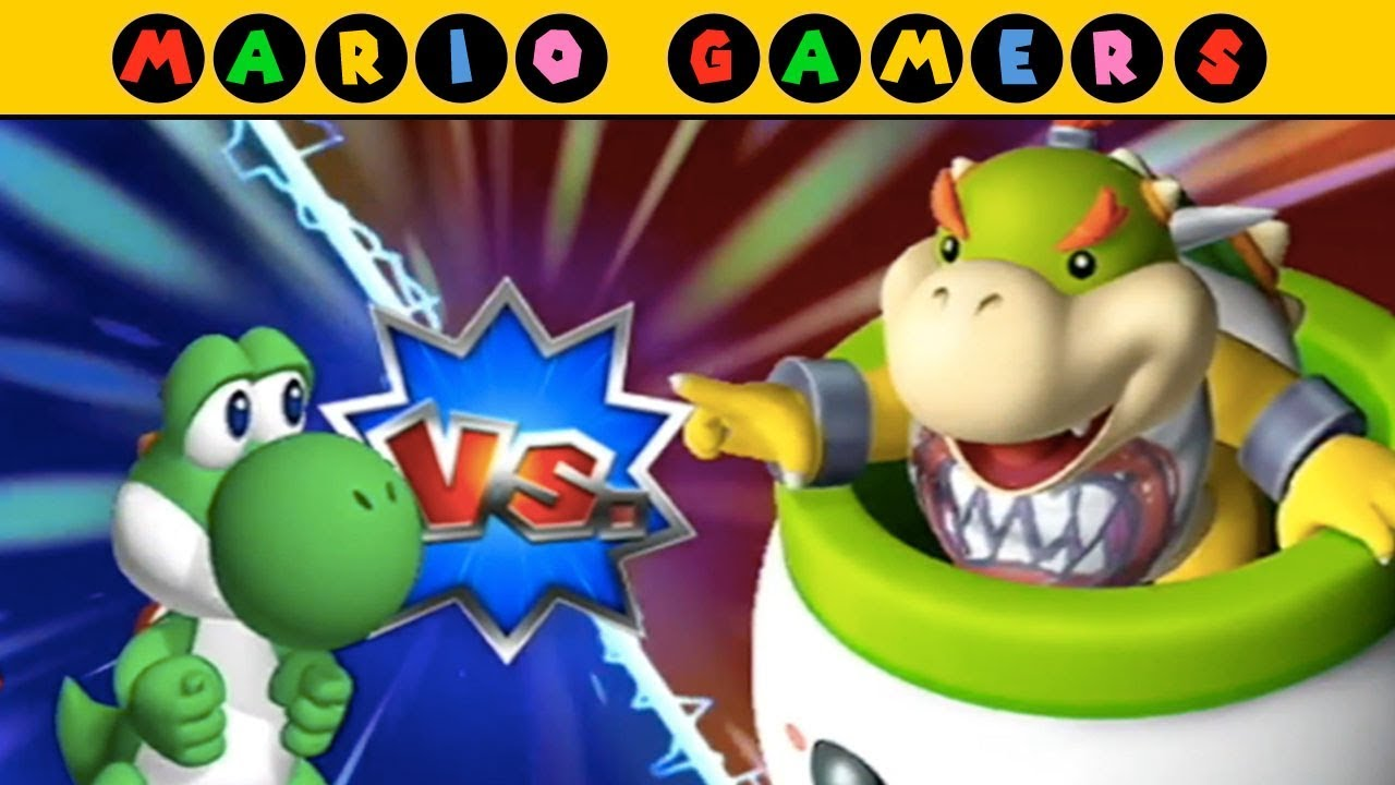 Mario Party 9 Multiplayer Bowser Station Yoshi Toad Peach
