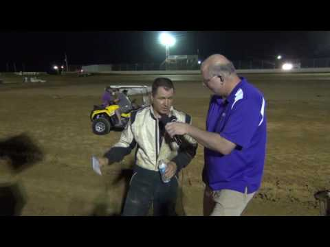 Trail-Way Speedway 358 Sprint Car Victory Lane 8-26-16