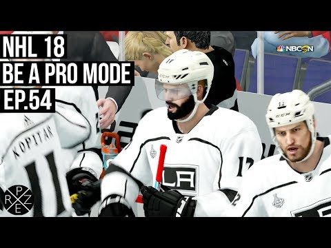 NHL 18 Be A Pro | Los Angeles Kings vs Washington Capitals Ep.54 (Xbox One X)