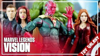 Marvel Legends Toys R Us Exclusive Mcu Vision Review