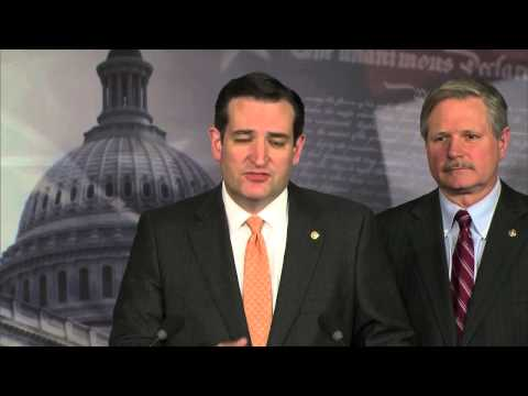 Sen. Ted Cruz Joins Sen. John Hoeven for Press Conference Supporting the Keystone Pipeline