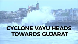 Cyclone Vayu Turns 'Very Severe', Advances Towards Gujarat