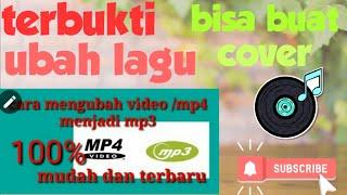 """Gambar cover Cara download """"mp4/video menjadi mp3"""" terbaru"""