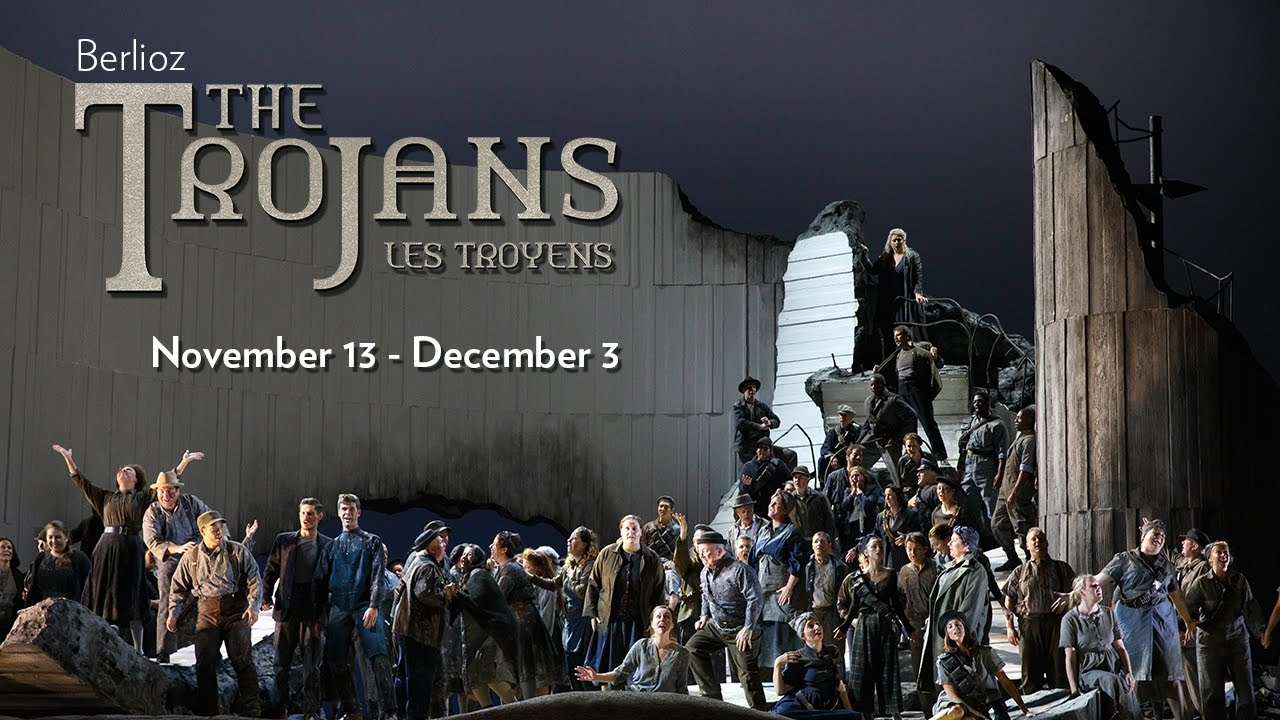 Berlioz's THE TROJANS at Lyric Opera of Chicago. Onstage November 13 - December 3