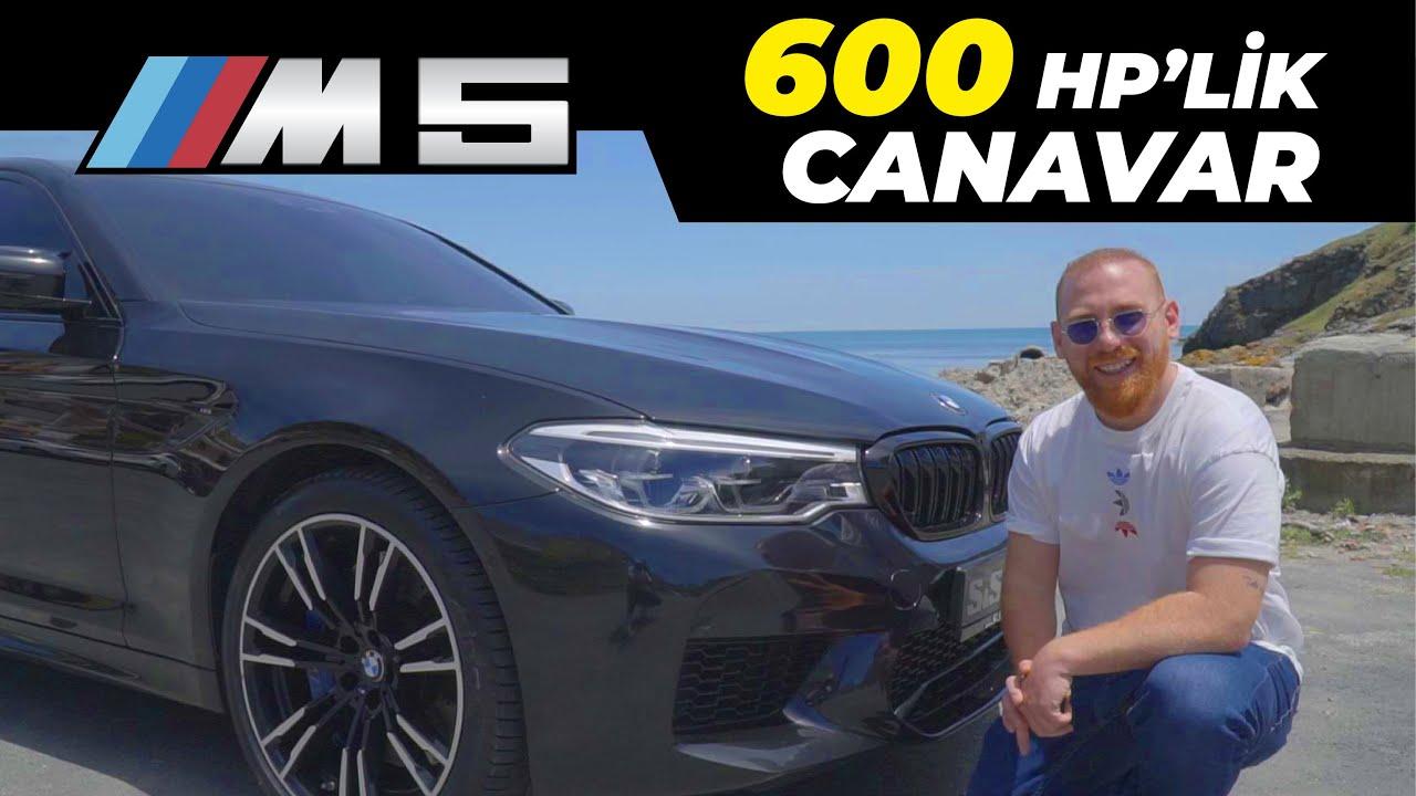 Yeni BMW M5 F90 Araba Tanıtımı | 3 Saniye'de 0-100 Hız Testi | 600 HP'lik Canavar | M5 İnceleme