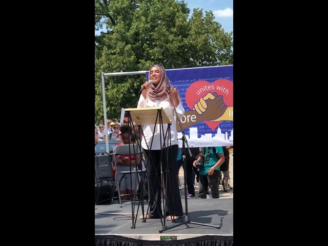 Video: CAIR Rep Zainab Chaudry Speaks at Immigrant Solidarity Rally in Baltimore