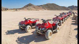 На квадроциклах по пустыне. Мото-Сафари / Египет-Шарм Эль Шейх.