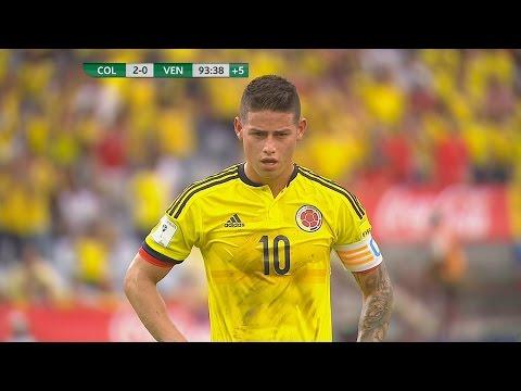 James Rodriguez vs Venezuela (H) - 16/17 HD 1080i by JamesR10™